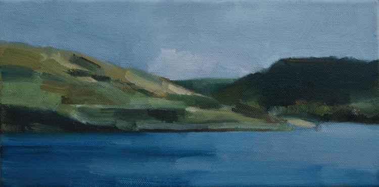 View from Dovestone Reservoir, Saddleworth