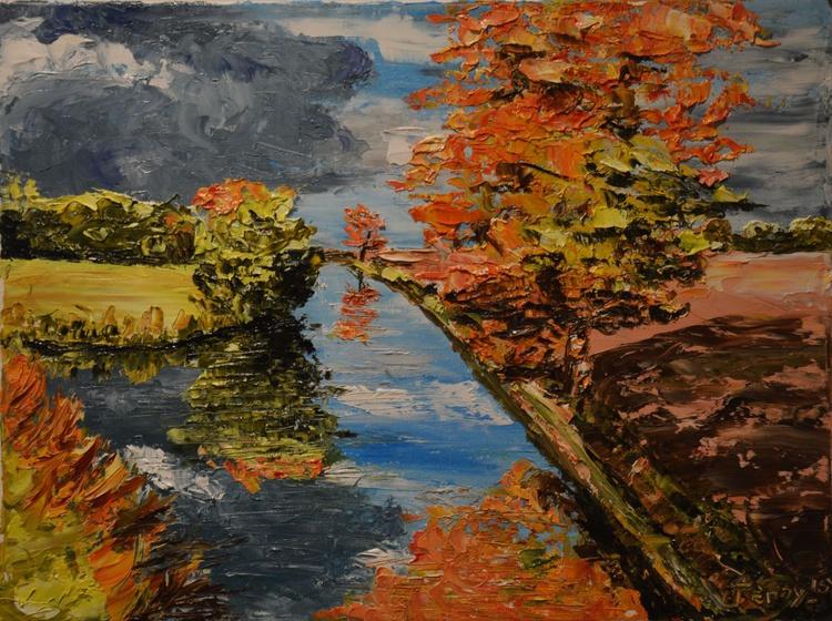 Autumn Rain Heading For Grand Union Canal - Image 0