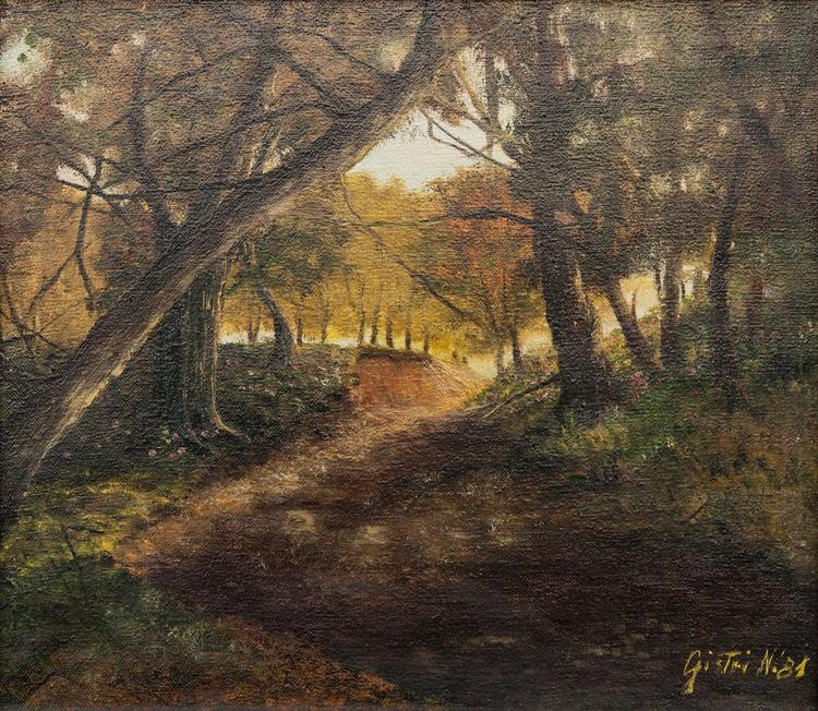 Path in the woods - Viottolo nel bosco - Image 0