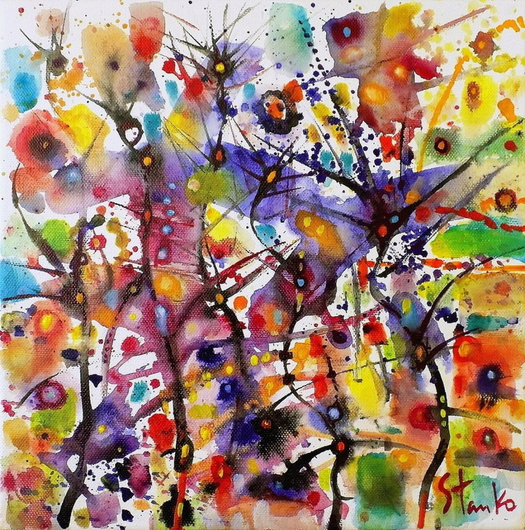 Abstract gardens(musical script)-III - Image 0