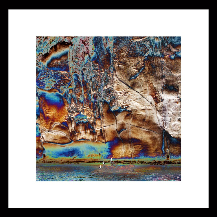 Natural Abstracts - Sea Cave Rockface number 3 - Image 0