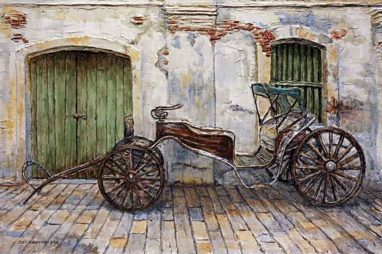 A Carriage On Crisologo Street -