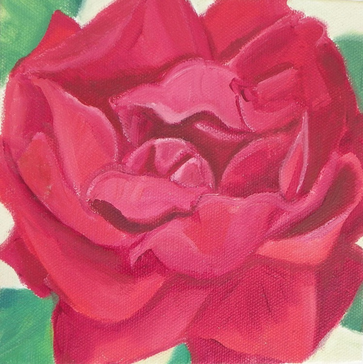 Little red rose - Image 0