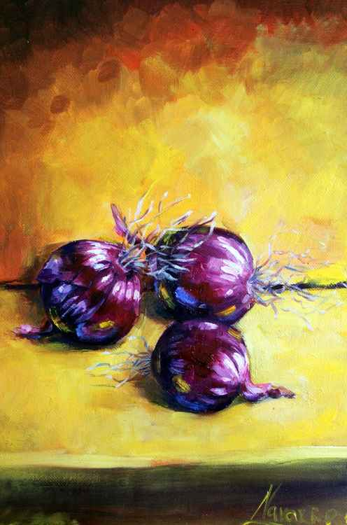 """Red Onions"" -"