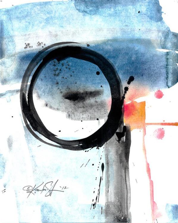 Enso Abstraction Series . No.113 - Image 0