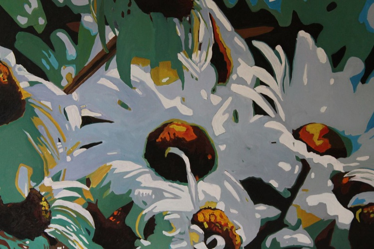 Wind Bunched Daisies - Image 0