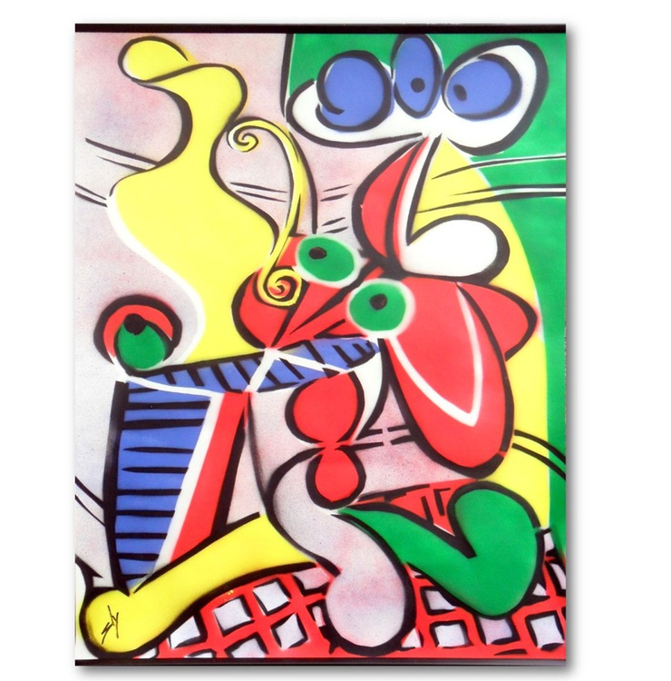 Other People's Paintings Only Much Cheaper: No. 1 Picasso (Large On Paper) - Image 0