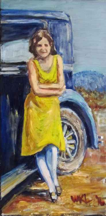 Woman in Yellow -