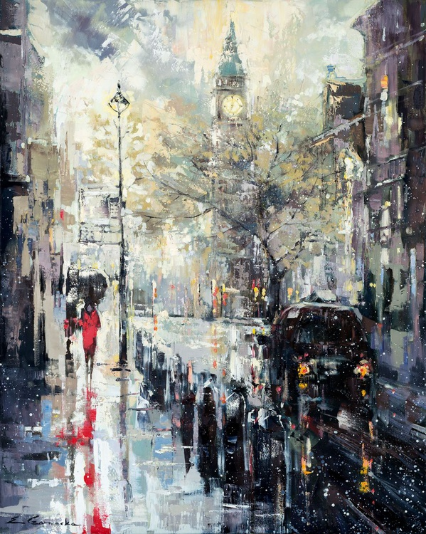'London In The Rain' - Image 0