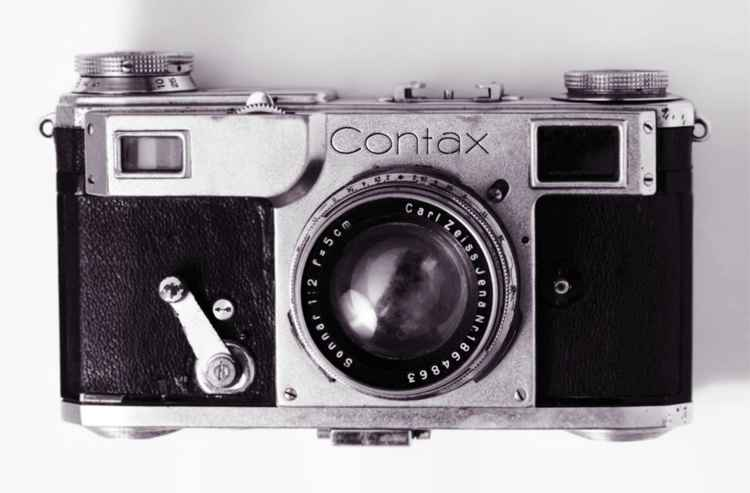 Contax II Pop Art Vintage Camera Print