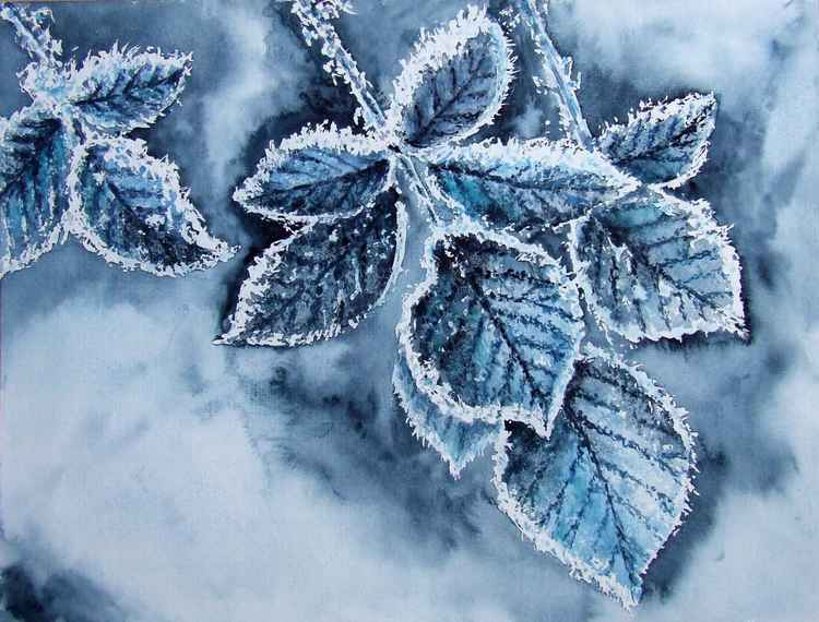 Frozen leafs -