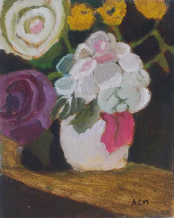 Quogue Flowers in Vase #2 -