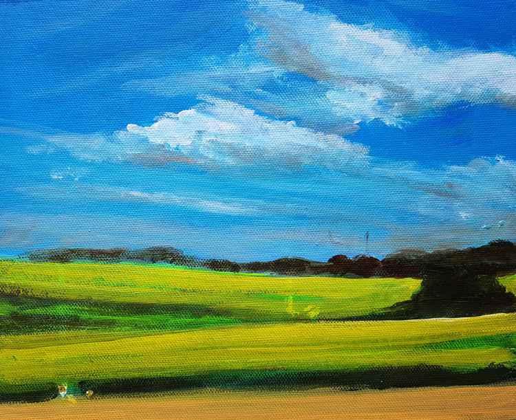 Sunny Fields No.2