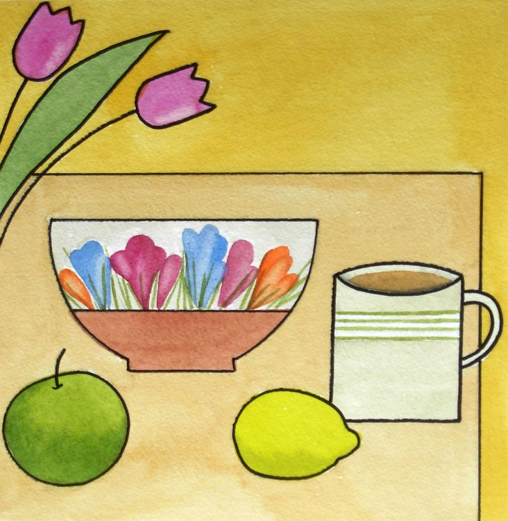 Still Life with Fruit Bowl - Image 0
