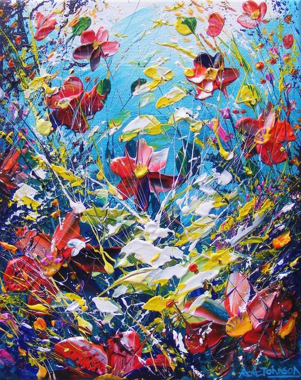 "Floral Paintings - ""Sunlit Hush"" - Image 0"