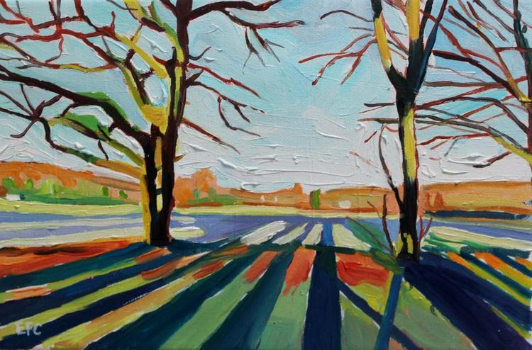 Winter Morning Shadows - Image 0