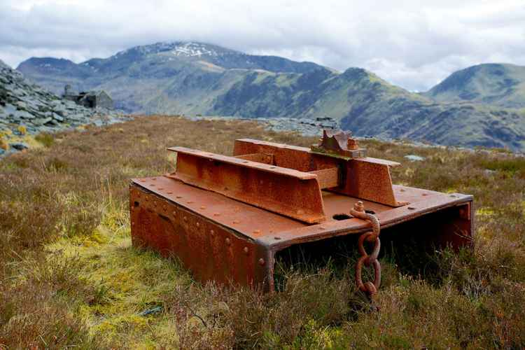 Quarry Relic, Dinorwig, Snowdonia -