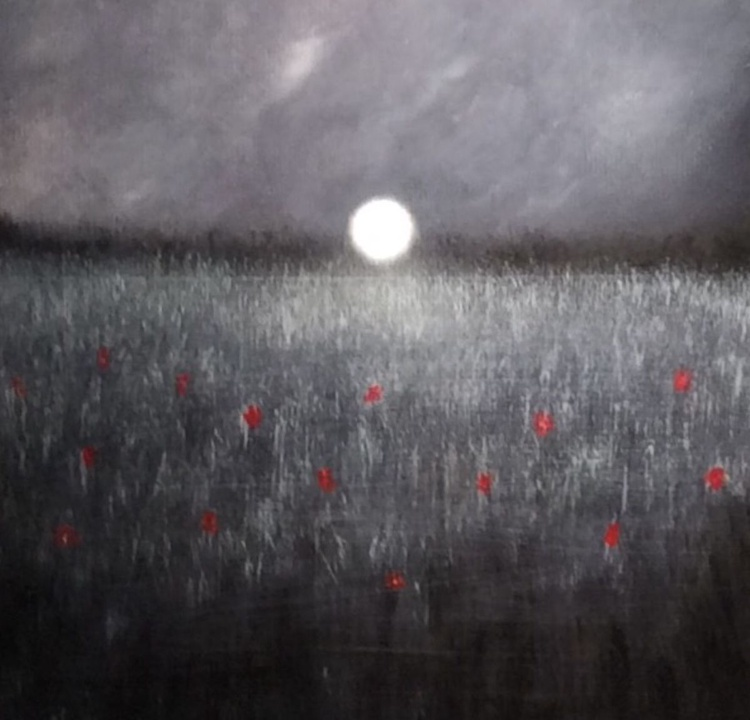 """"""" beam of light and field of roses """" - Image 0"""