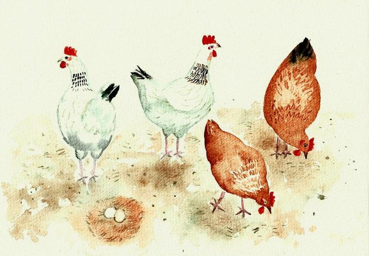 Happy Chickens - Image 0