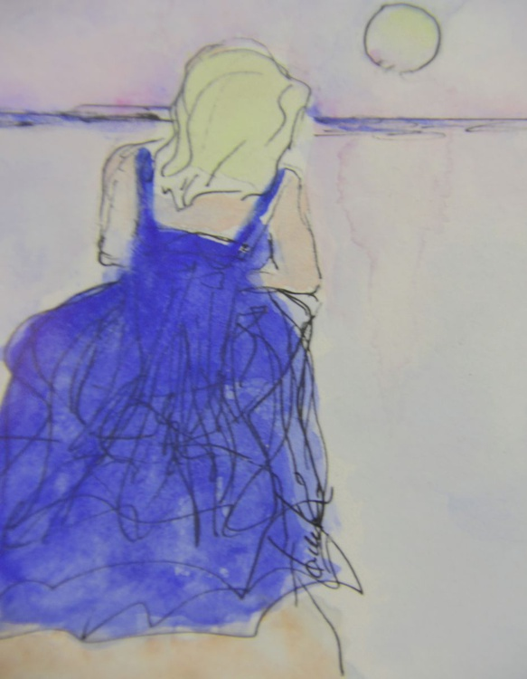 Blue Gown - Image 0