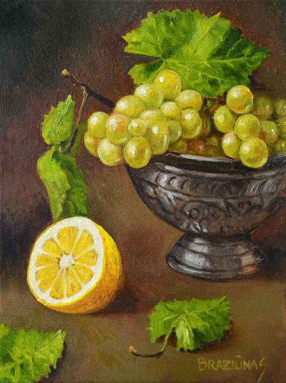 Lemon, miniature 24x18cm -