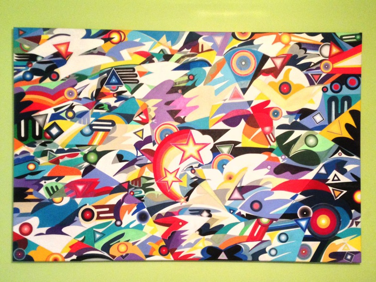 """The Mural Of Synthetic Maximalism (The Maximalism Evolution)"" - Image 0"