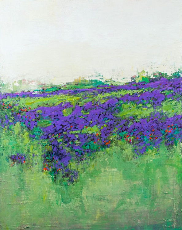 Lavender Violet 24x30 inches - Image 0