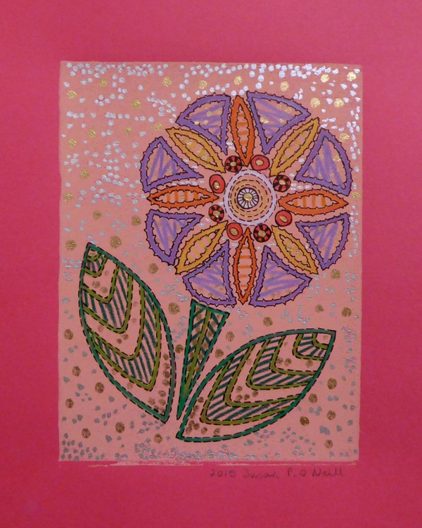 Geometric flower 5 - Image 0