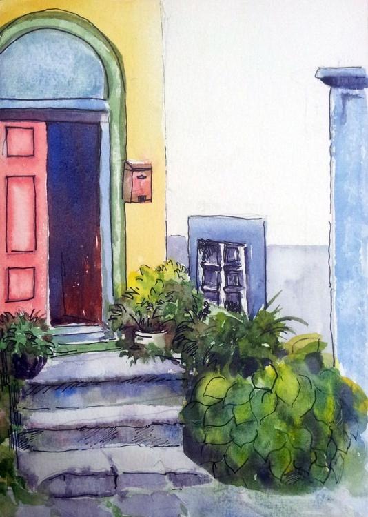 """The Tuscany Entrance 5.75""""x 8.25"""" - Image 0"""