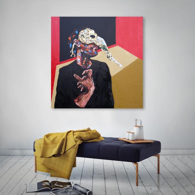 Man wearing mask - Image 0