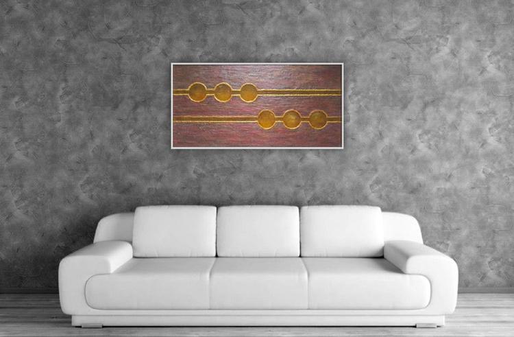 Roman Belt - Large strukctural painting - Image 0
