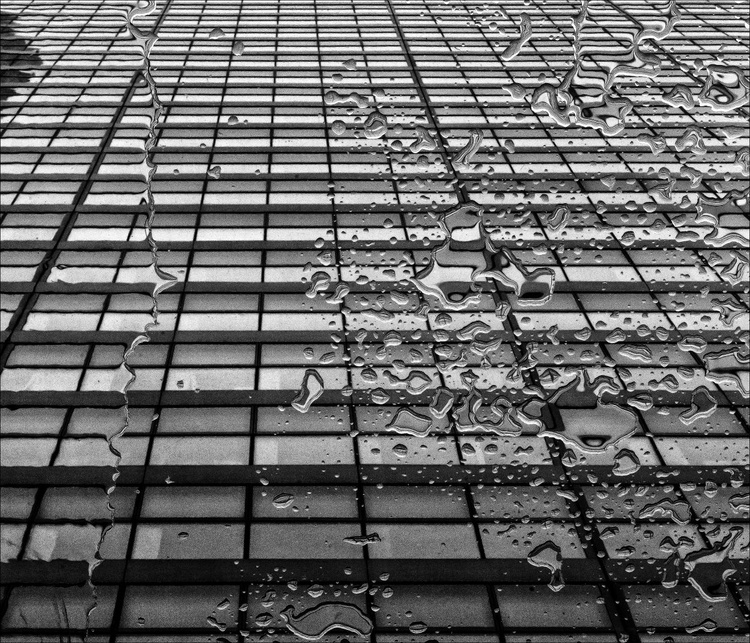 Raindrops  and Highrise - Image 0