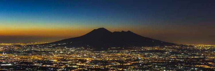 Mount Vesuvius at Night - Image 0