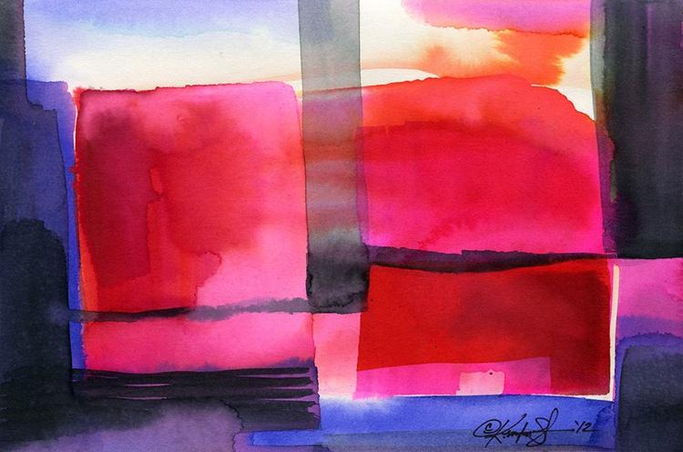 Watercolor Abstraction No. 229 - Image 0