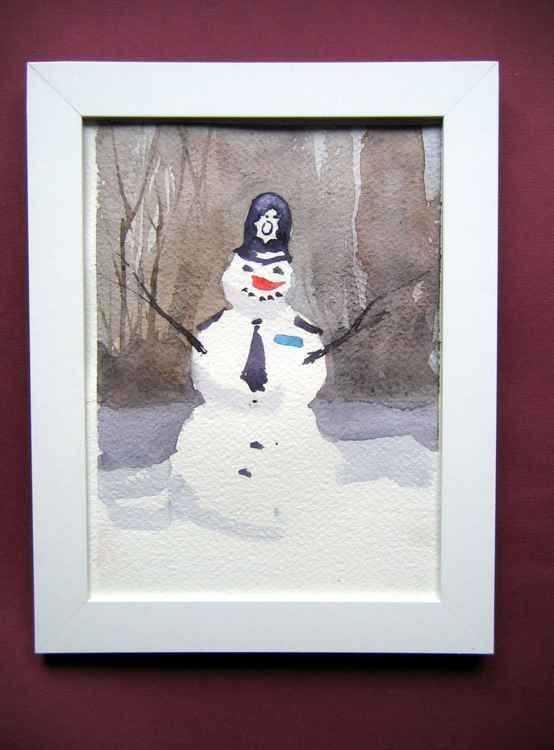 Snowman Bobby -