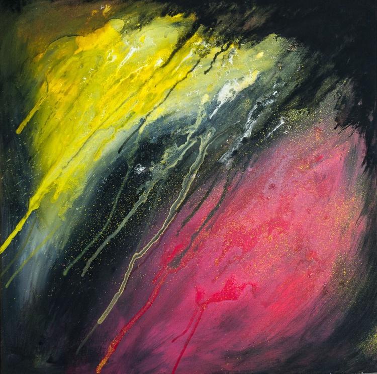 Rebel Skies Abstract Painting - Image 0