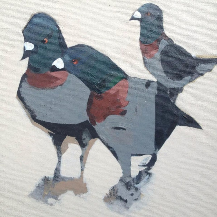 3 Pigeons - Image 0
