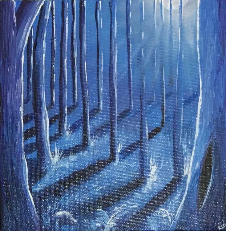 Moonlit woods 4 - Image 0