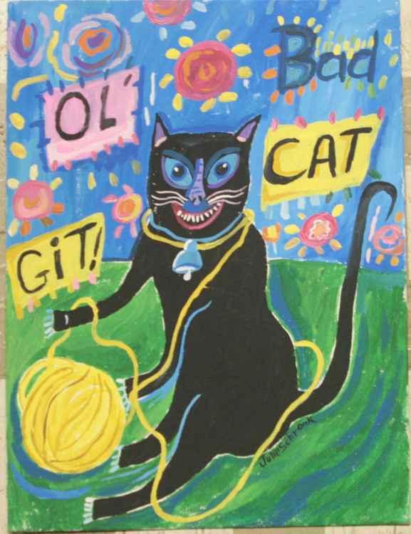 SKAT OLD CAT! -