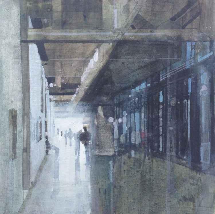 Pompidou Centre interior, Paris, 21 Oct