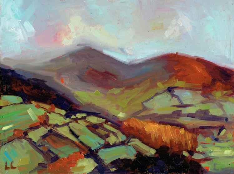 Cefn Cyff Autumn, The Brecon Beacons