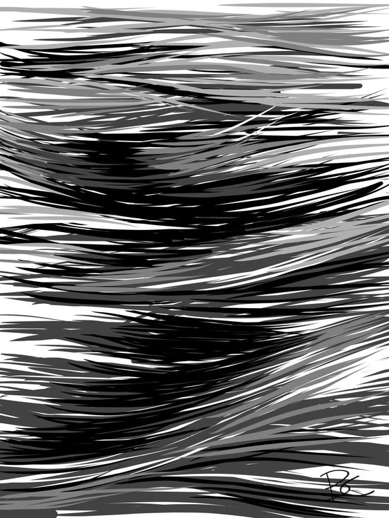 Wave 20 - Drawing - Image 0