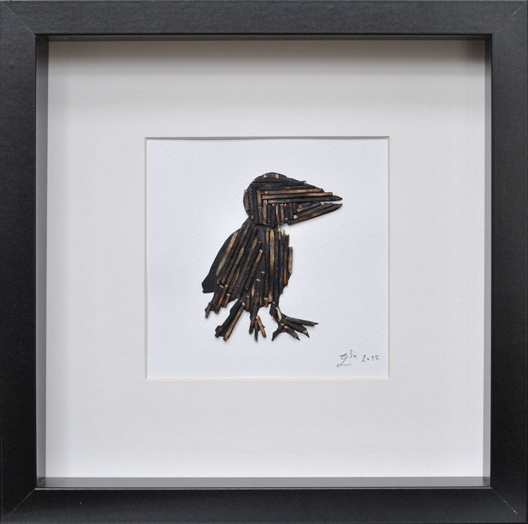 A Piece From A Film - Crow - Image 0