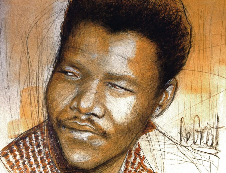 Young Nelson Mandela - Image 0