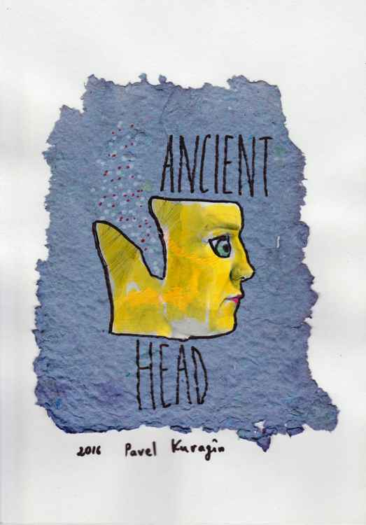 Ancient head -