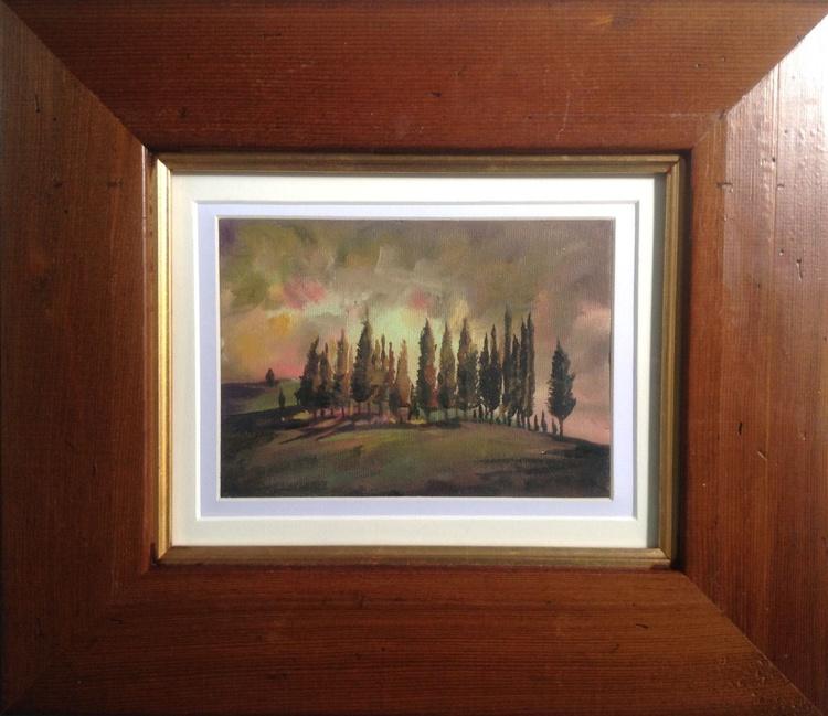 Toscana (framed original) - Image 0