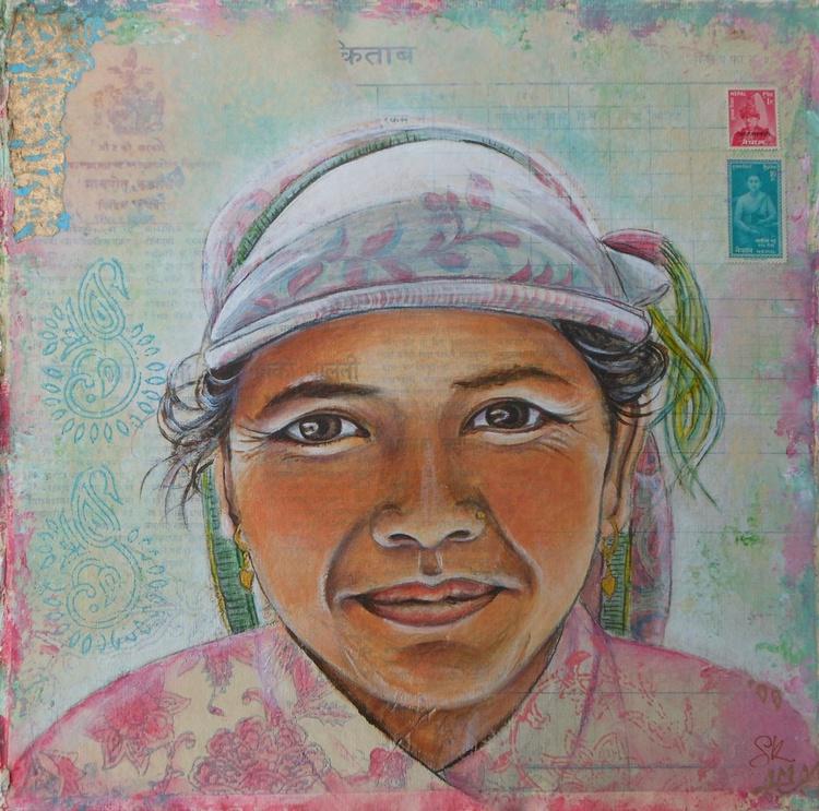 Nepali lady porter - Image 0