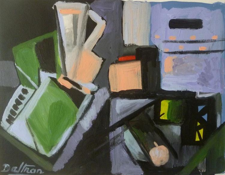 abstraction à la pomme - Image 0