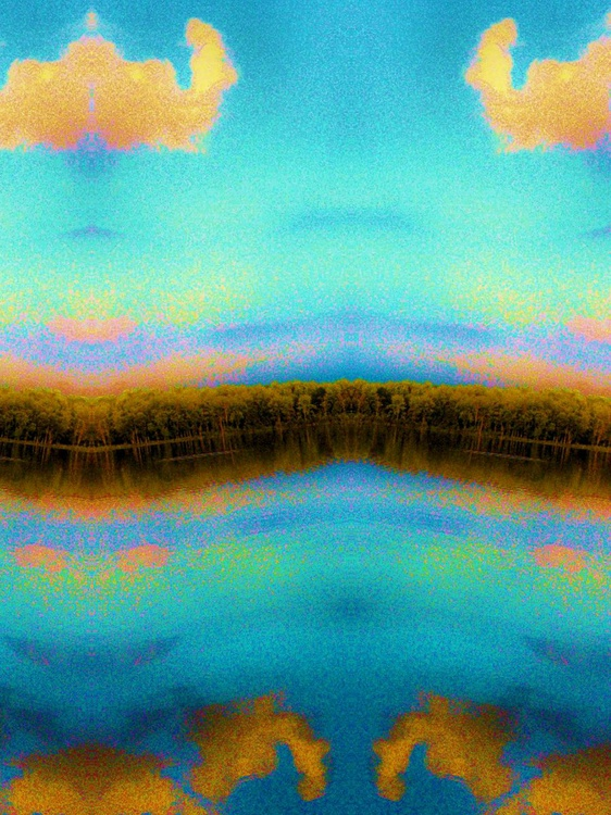 Aqua Lake mirror reflection 3 - Image 0