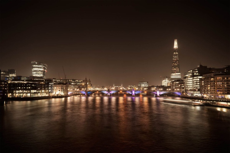 Thames View by Night - Image 0
